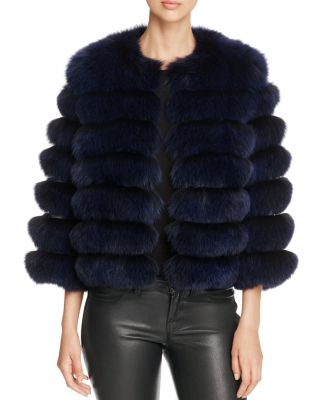 $Maximilian Furs Nafa Fox Fur Coat - 100% Exclusive - Bloomingdale's