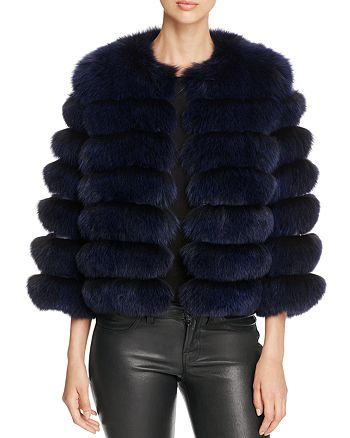 Maximilian Furs - Nafa Fox Fur Coat - 100% Exclusive