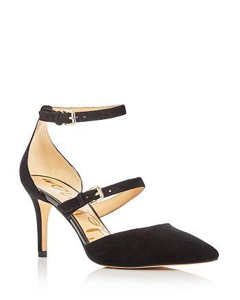 b36dbdbb18db Sam Edelman - Women s Thea Double Strap d Orsay Pointed ...