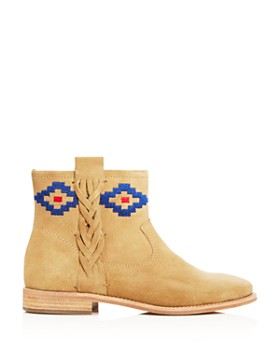 Soludos - Women's Embroidered Booties