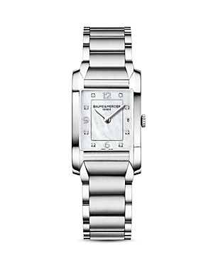 Baume & Mercier Hampton Diamond Watch, 34.5mm