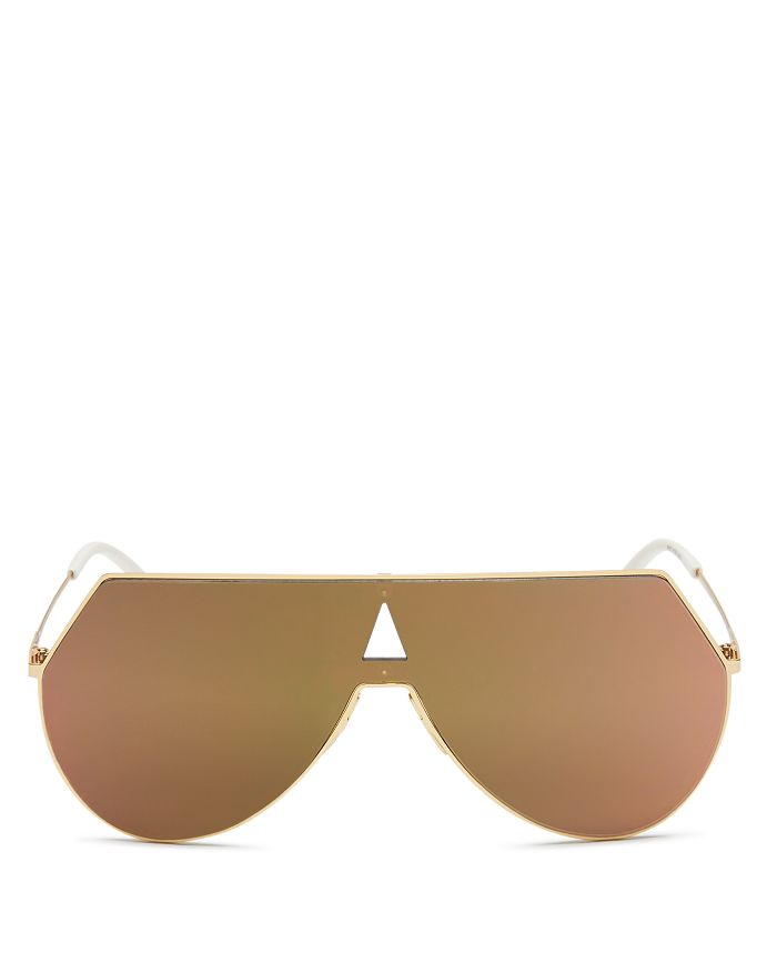 c82f0392135 Fendi - Women s Eyeline Mirrored Shield Sunglasses