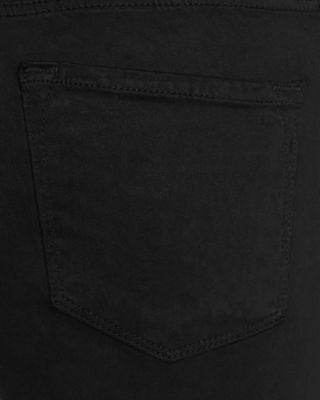 Black super skinny maternity jeans