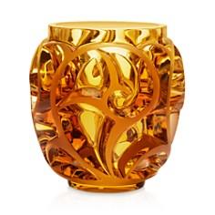 Lalique - Tourbillon Amber Vase