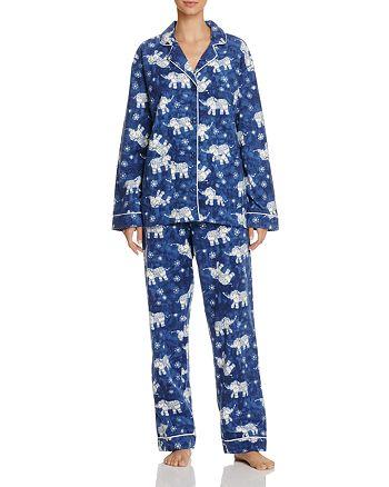 PJ Salvage - Elephant Flannel Pajama Set