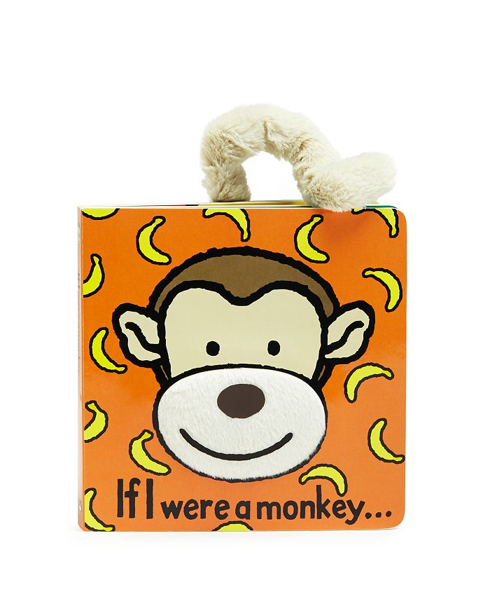 Jellycat - If I Were a Monkey Book - Ages 0+