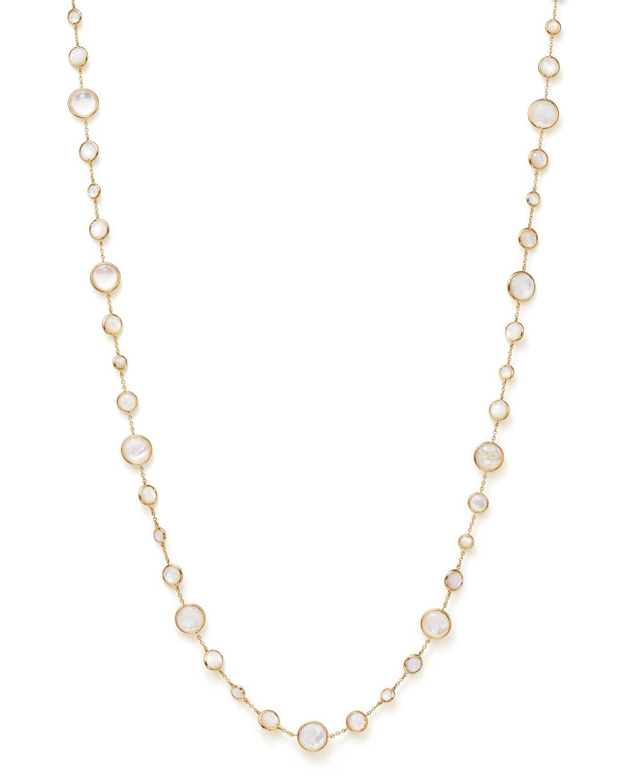 Ippolita Clear Quartz Lollipop Necklace, 36