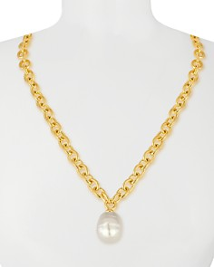 """Majorica Simulated Pearl Necklace, 16"""" - Bloomingdale's_0"""