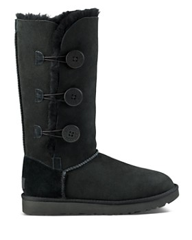UGG® - Women's Bailey Button Triplet Sheepskin Mid Calf Boots