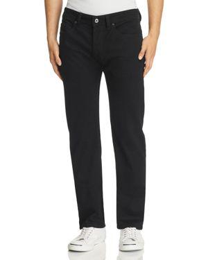 Diesel Safado Straight Fit Jeans in Black Denim