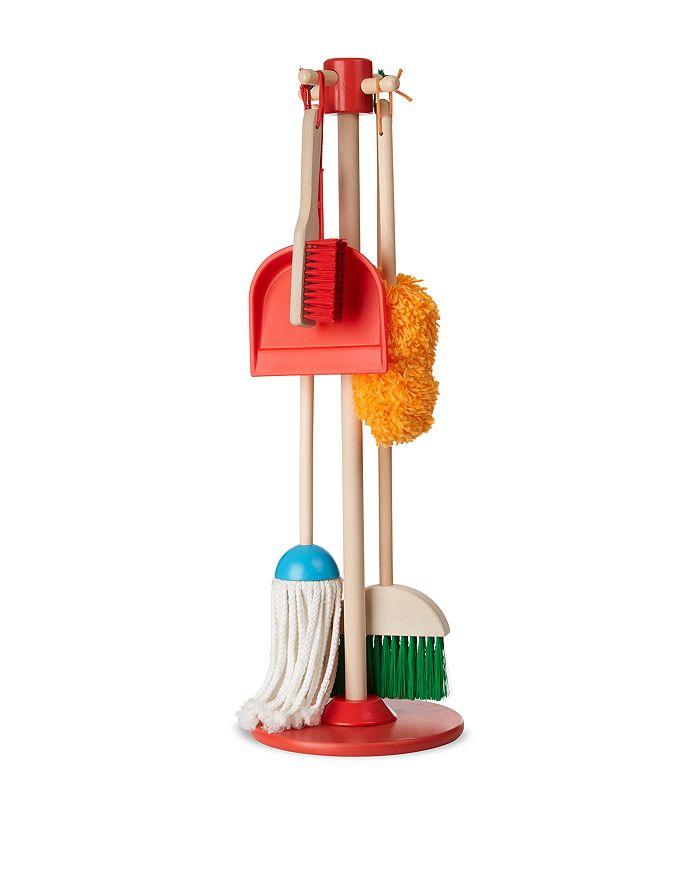 Melissa & Doug - Dust! Sweep! Mop! Play Set - Ages 3+