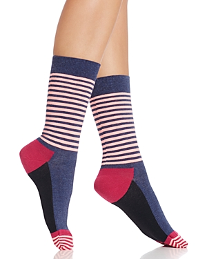 Happy Socks Colorblock Stripe Crew Socks