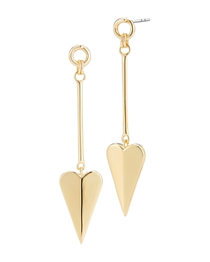 Elizabeth and James Bronte Heart Drop Earrings