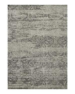 Nourison Luminance Rug - Ivory/Black, 3'5 x 5'5