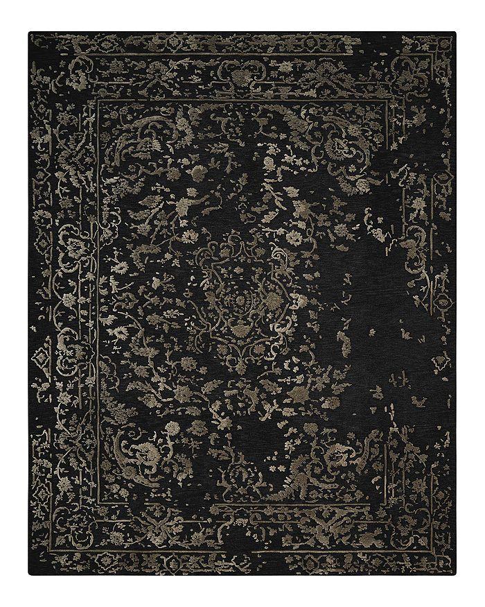 Nourison - Opaline Rug - Midnight Silver, 8' x 10'