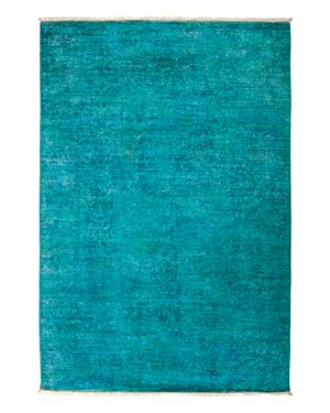 Solo Rugs Vibrance Overdyed Area Rug, 4' x 5'9