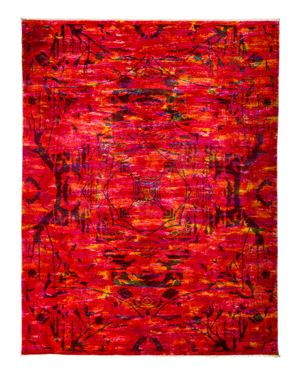 Solo Rugs Vibrance Overdyed Area Rug, 8'2 x 10'1