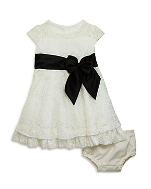 Us Angels Infant Girls Flared Lace Dress  Bloomers Set  Sizes 1224 Months