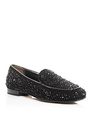 Donald J Pliner Helene Rhinestone-Embellished Loafers