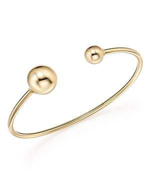 14K Yellow Gold Cuff with Removable Beads - 100% Exclusive