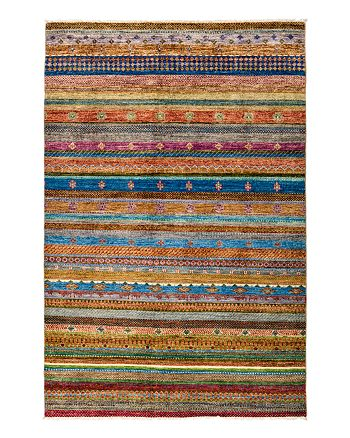 Solo Rugs - Tribal Oriental Area Rug, 6' x 9'2""