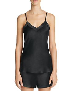GINIA Silk V-Neck Cami & Basic Silk Boxers - Bloomingdale's_0