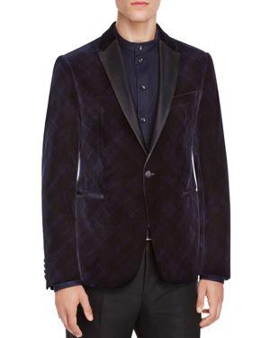Armani Collezioni Velvet Classic Fit Jacket
