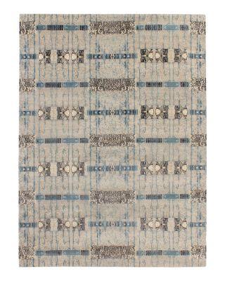 Jewel Lariat Plush Area Rug, 6' x 9'