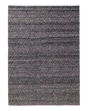 Grit & ground Pom Pom Diamond Area Rug, 6' x 9'