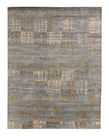 GRIT&ground - Mojave Area Rug - Gray/Brown, 6' x 9'