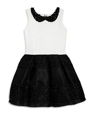 Zoe Girls Beaded Collar Dress  Sizes 716