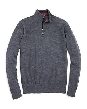 TailorByrd Boys Quarter Zip Wool Sweater  Big Kid