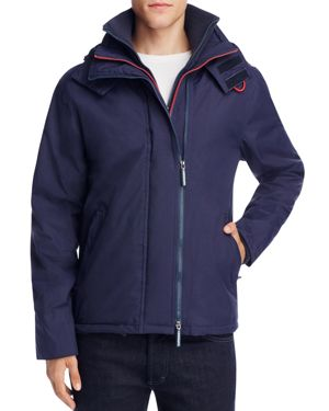 Superdry Pop Zip Hood Arctic Windcheater Jacket