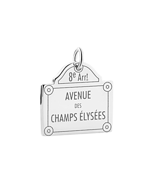 Jet Set Candy Champs-Elysees Sign Charm