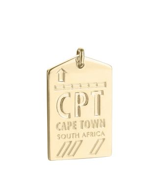 JET SET CANDY CPT CAPE TOWN SOUTH AFRICA LUGGAGE TAG CHARM