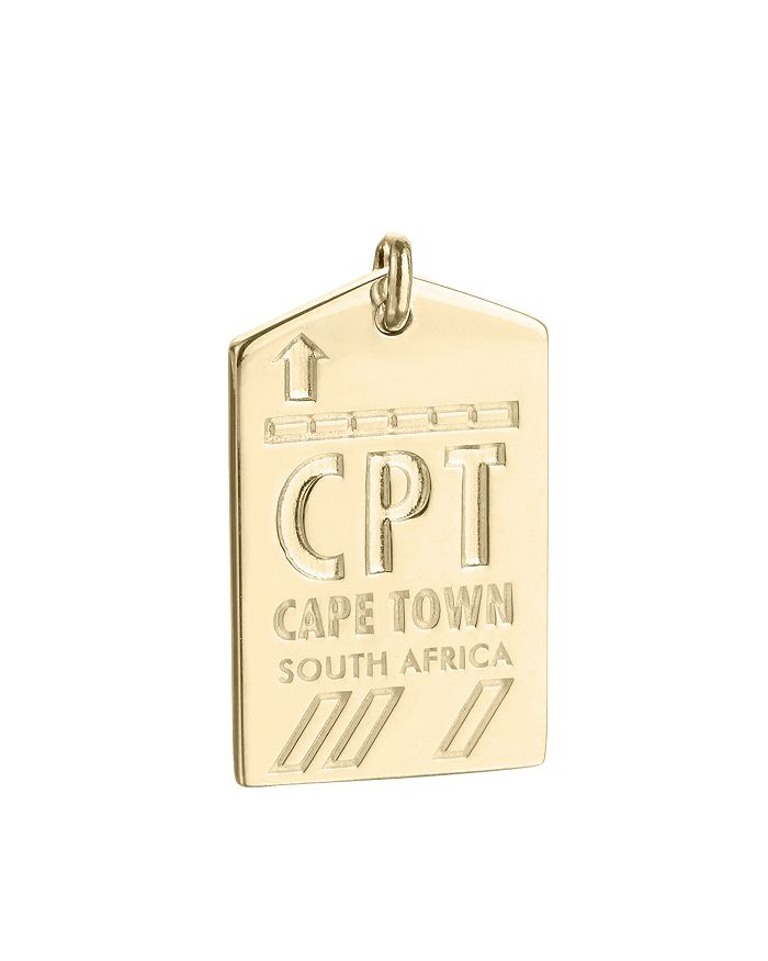 Jet Set Candy - CPT Cape Town South Africa Luggage Tag Charm