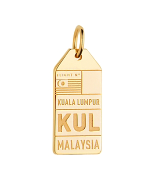 Jet Set Candy Kul Kuala Lampur Malaysia Luggage Tag Charm