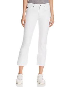 AG - Jodi Crop Jeans in White