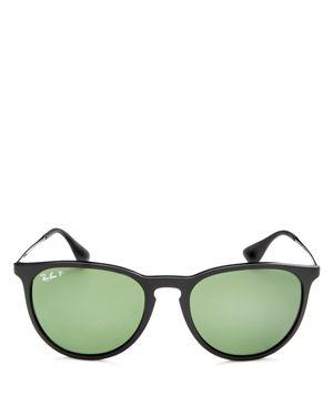 Ray-Ban Polarized Erika Round Sunglasses, 54mm