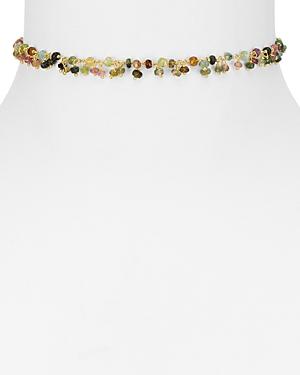 Ela Rae Libi Shaker Tourmaline Necklace, 12