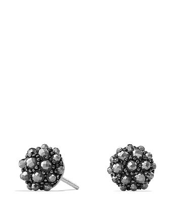 David Yurman - Osetra Stud Earrings with Hematine