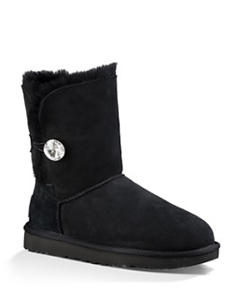 UGG® - Women's Bailey Button Bling Sheepskin Boots