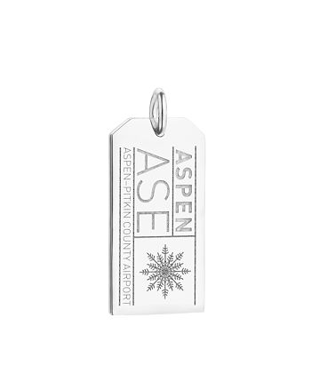 Jet Set Candy - ASE Aspen Luggage Tag Charm