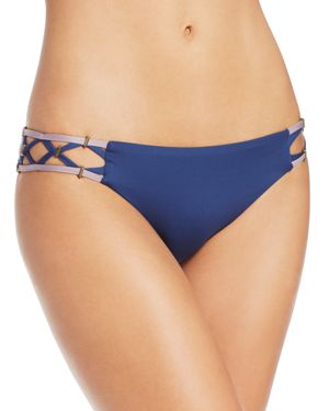 Dolce Vita Lattice Side Bikini Bottom