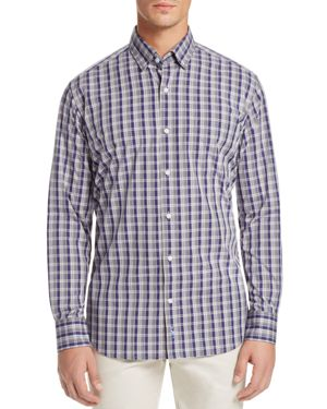 TailorByrd Agera Plaid Regular Fit Button-Down Shirt