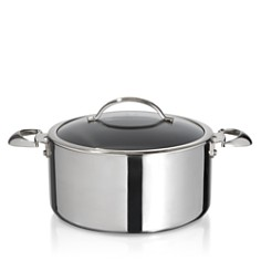 Scanpan 7.5-Quart Mirror Polished Stainless Steel Covered Dutch Oven - 100% Exclusive - Bloomingdale's_0