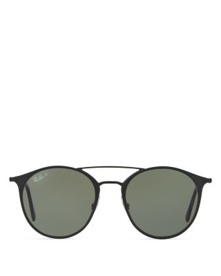 ... Rb3546 186/9a 52 Black / Polarized EAN 8053672672428 product image for  Ray-Ban Highstreet Phantos Sunglasses, 52mm | upcitemdb.