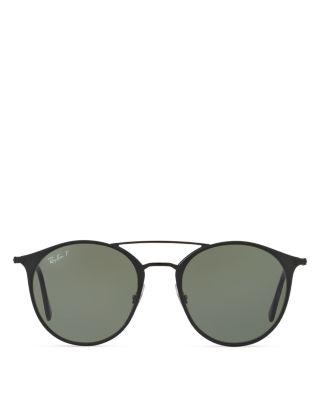 ... Rb3546 186/9a 52 Black / Polarized EAN 8053672672428 product image for  Ray-Ban Highstreet Phantos Sunglasses, 52mm | upcitemdb.