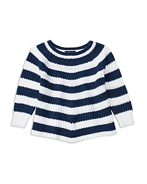 Ralph Lauren Childrenswear Girls' Stripe Cotton Sweater - 2-6X