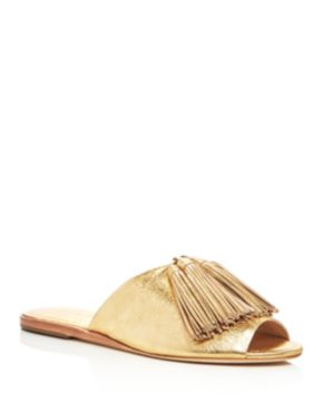 Loeffler Randall Metallic Tassel Sandals Sale Visa Payment Cheap Price Discount Authentic Cheap Sale Release Dates wUu10x